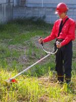 草刈り作業